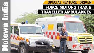 Force Ambulance Trax & Traveller | Super Heroes on 4 wheels