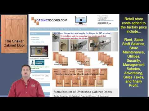 Bon Cheap Cabinet Doors | How To Get The Best Price Online   YouTube