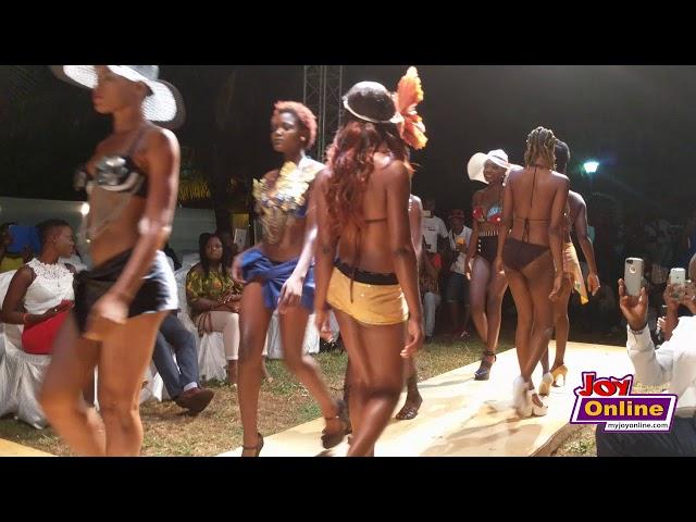 Africa bikini fashion show