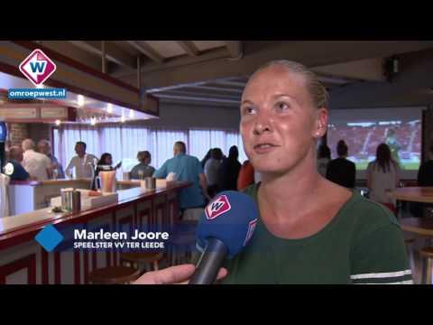 'Ter Ladies' juichen voor Oranje bij VV Ter Leede