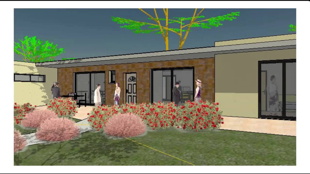 Visite virtuelle la Maison plain-pied, Ref. 14155_D, T3, 1 suite, 2 ...
