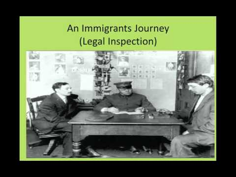 Immigration during Industrial Rev