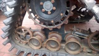 Kubota GB 180 traktorek na gąsienicach. www.akant-ogrody.pl