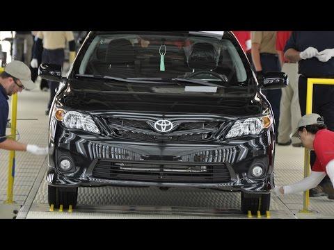 VÍDEO: Como é a fabricação de um Toyota Corolla