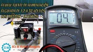 Review: Fuente de Alimentación  Regulada de 1.2 a 30 voltios  con LM338K - ICStation