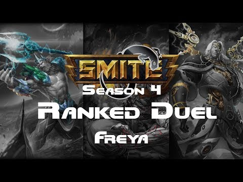Smite - Ranked 1v1 Duel A-Z Series - Freya Episode 32
