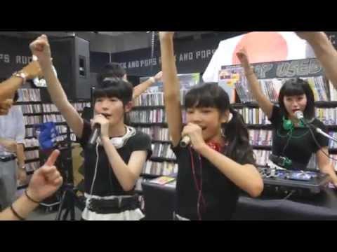 [4K] Stereo Tokyo @ HMV record shop 渋谷 20150821