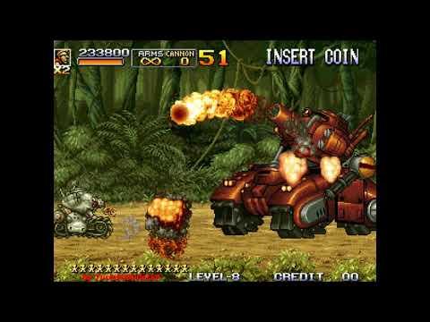 Metal Slug 5 (Arcade) - (Longplay - All Paths / All Secrets | Level 8 Difficulty)