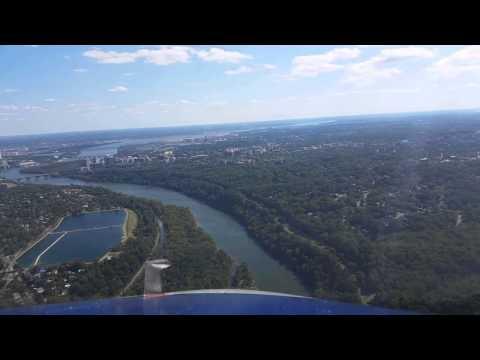 River Visual Approach Washington D.C.