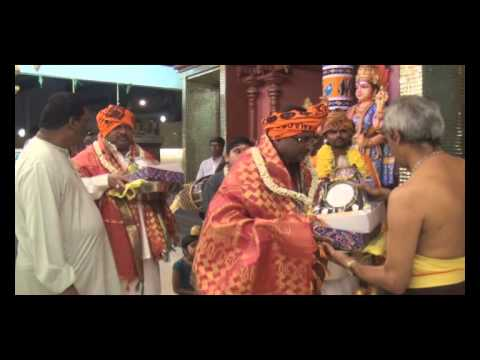 MATHANGI BEAUTIES - MAKKAL OSAI HONORED IN TEMPLE