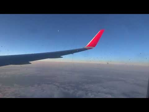 Austrian Airlines Boeing 767; New York to Vienna in 8 hours.