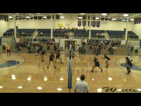 Centralia College Women's Volleyball  9-29-2017