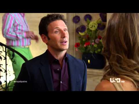 "Kat Foster in ""Royal Pains"" 4x05 - Clip 2"