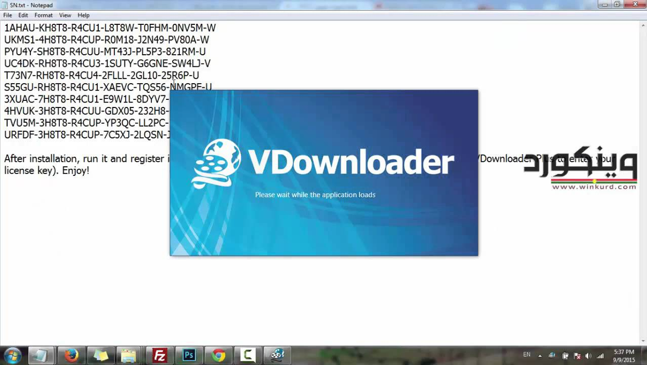 vdownloader premium serial