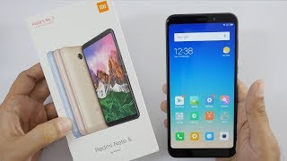 Xiaomi Redmi Note 5 Smartphone Unboxing & Overview