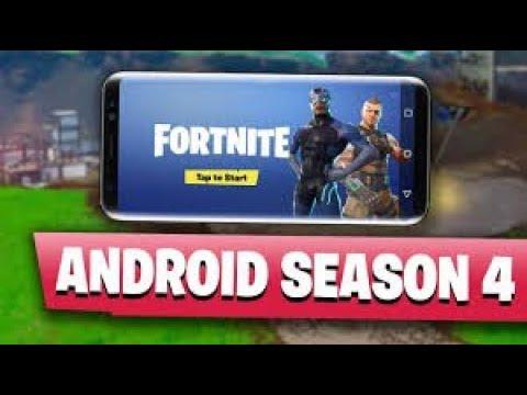 Fortnite Android Season 4 Beta Download. Tech By Nipun
