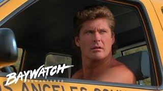 Mitch's Biggest Lifeguard FAIL On Baywatch... | Baywatch Remastered