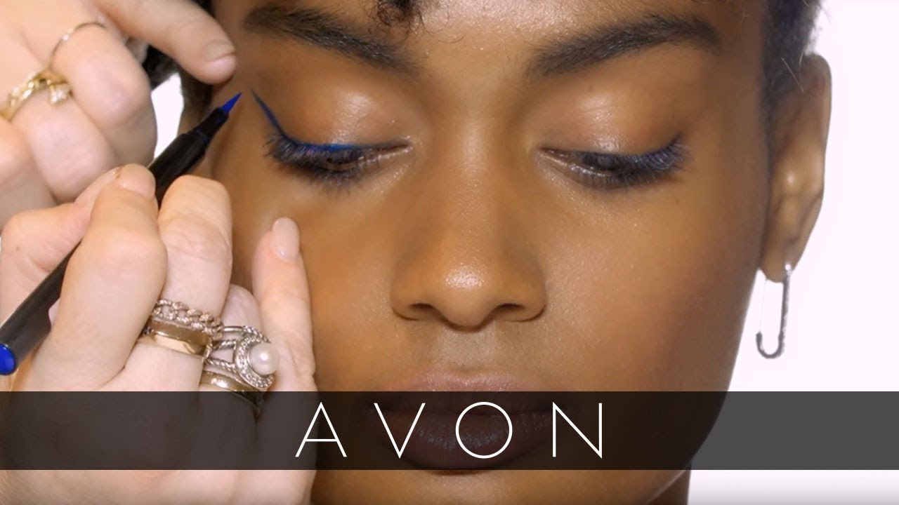 How to Get a Colorful Cat Eye with Kelsey Deenihan   Avon