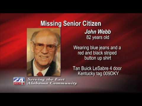 Missing Senior Citizen Alert