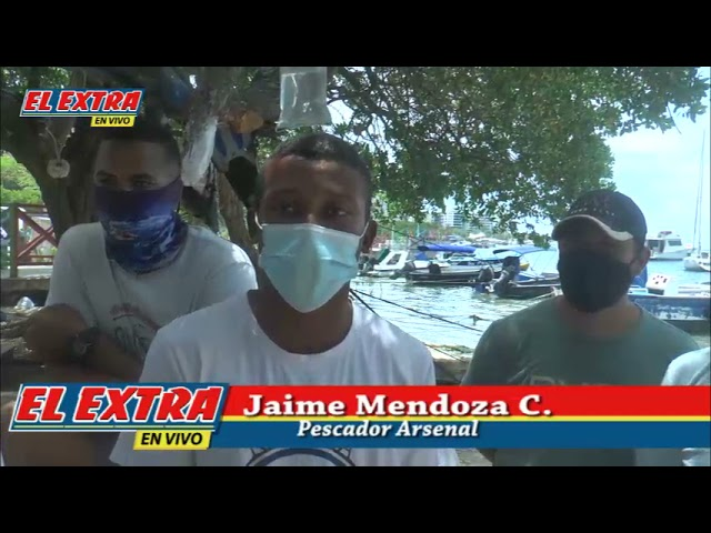 jaime Mendoza pescador Artesanal