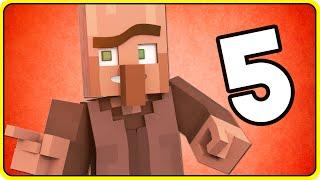 Minecraft: 5 CURIOSIDADES SOBRE O ALDEÃO (Villager)