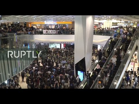LIVE:  Fresh round of protests hits the streets of Hong Kong