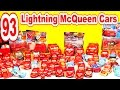 🚗  🚗  93 Lightning McQueen Race Cars In Collection From Disney Pixar Cars Cars2 And Cars Toons🚗