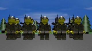 """My first animation - """"LEGO Army Training"""" (2007)"""