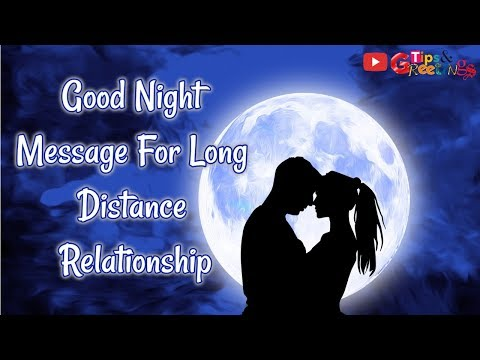 Good night love quotes long distance relationship