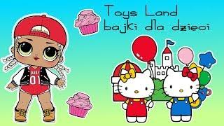Hello Kitty & LOL Surprise Hairgoals  Kawiarnia  bajka po polsku