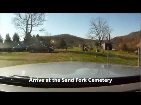 Gilmer County Cemetery Series Sand Fork Cemetery