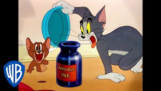 Tom & Jerry | Invisible Ink | Classic Cartoon | WB Kids