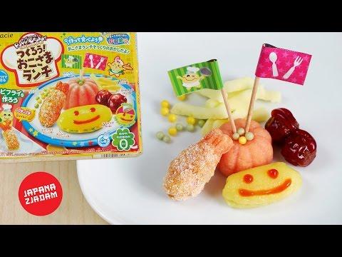 Krewetka, klopsy, frytki i omlet z proszku - Okosama Lunch - JAPANA zjadam #96