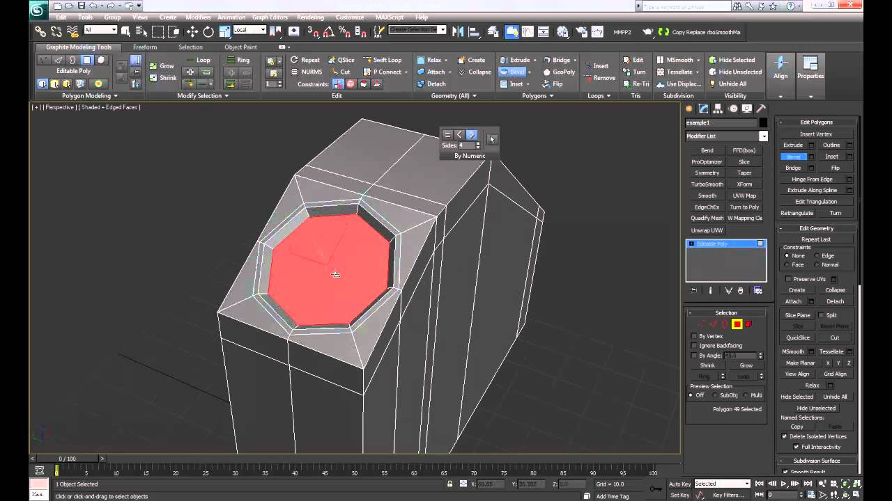 3ds Max Quick Amp Efficient Way Of Making A Hole Into Your