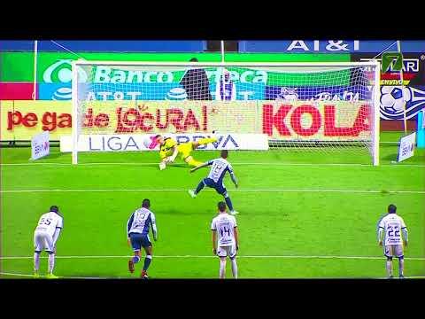 Puebla 0 - [1] Pachuca (I. Sosa 61') | Penalty