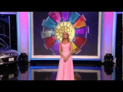 Wheel of fortune vanna for a day youtube