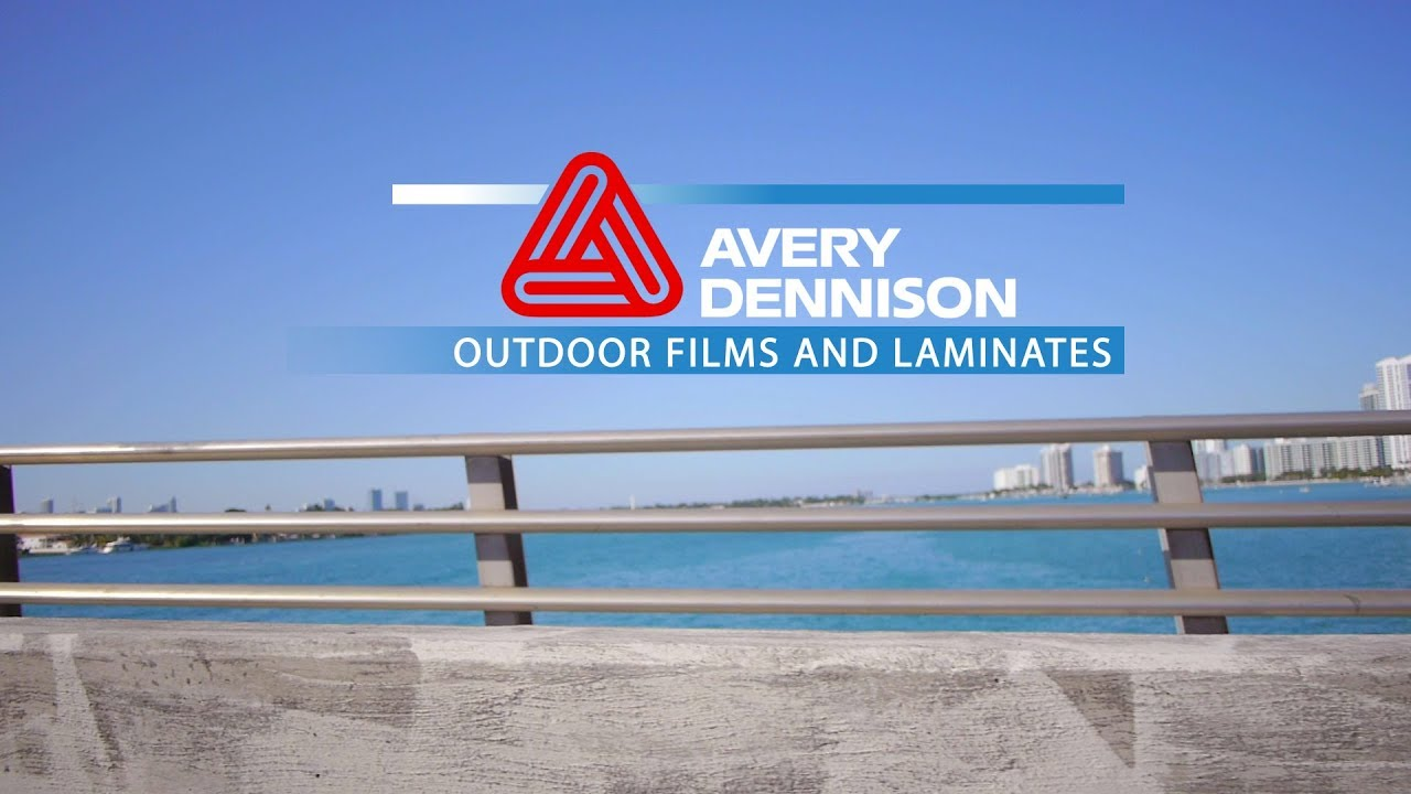avery dennison films and laminates let s take it outside youtube