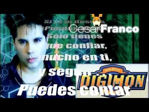 Digimon 1 Opening Latino oficial Cesar Franco SUSCRIBETE