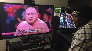 Samoa joe wins fatal 5 way wwe extreme rules 2017 reaction