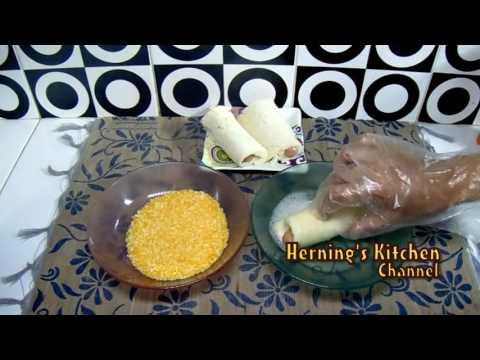 Resep Cara Membuat Roti Tawar Gulung Goreng Isi Sosis