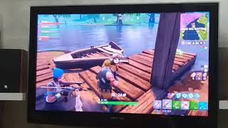 Fortnite battel total with a child who makes Gen gen gne