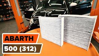 Nézzen meg egy videó útmutatók a ABARTH 500 / 595 (312_) Gumiharang Készlet Kormányzás csere