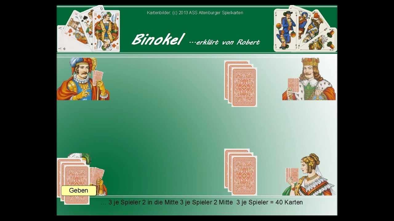 Binokel Kartenspiel