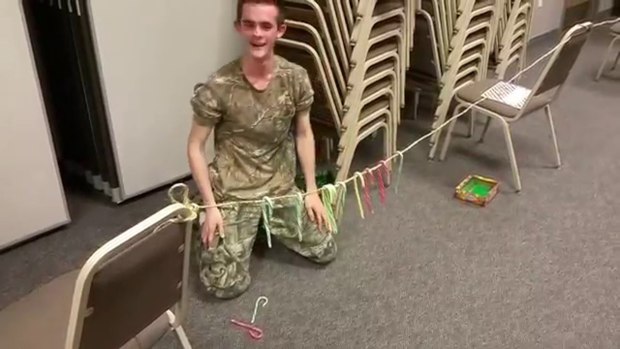 christmas party candy cane game