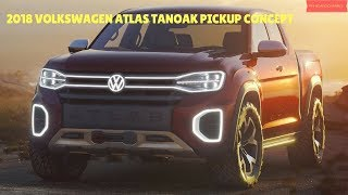 2018 Volkswagen Atlas Tanoak Pickup Concept - Interior and Exterior - Phi Hoang Channel.