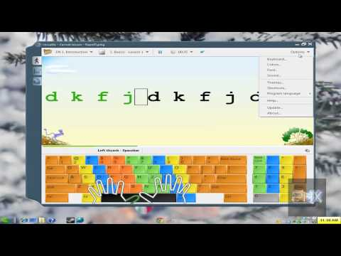 Tutorial Learn How To Type With Freeware Program Rapidtyping