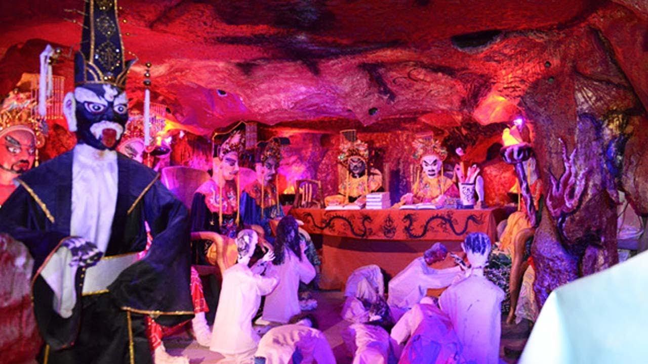 Kết quả hình ảnh cho hang địa ngục chùa khai nguyên
