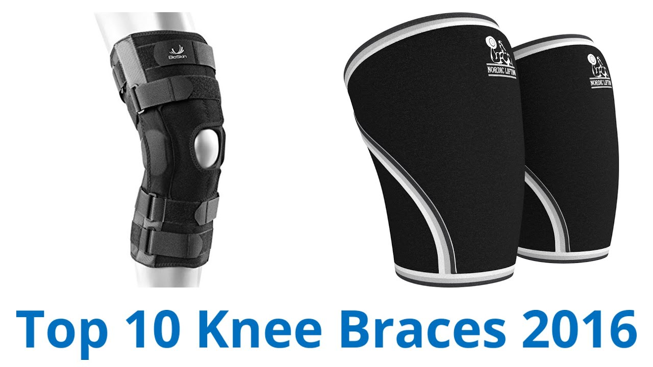 9bc9fbb952 10 Best Knee Braces 2016 - YouTube