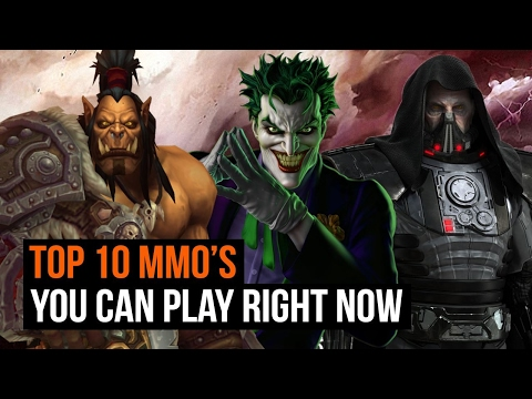 Top 10 MMO's you can play right now
