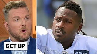 Antonio Brown is a magnet to terrible decisions - Pat McAfee | Get Up Video
